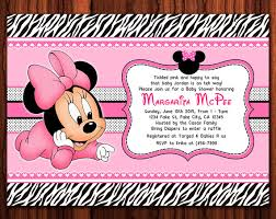 Free Mickey Mouse Baby Shower Invitation Templates - minnie mouse baby shower invitations baby showers ideas