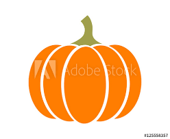 pumpkin squash for or thanksgiving flat color icon for