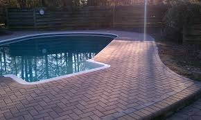 pool deck with brick pavers waplag excerpt haammss
