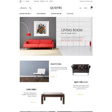 furniture stores ecommerce website templates