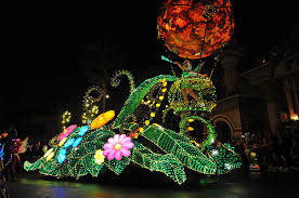 disney electric light parade the colorful tradition of the main street electrical parade