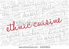 word for cuisine word cloud words related gastronomy cooking stock vector 2018