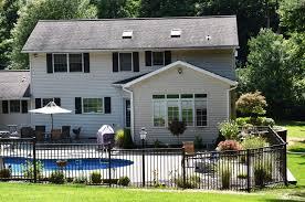 Clinton Ny New Pool Fence Installed Around Beautiful Pool In Clinton Ny
