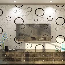 aliexpress com buy bubbles design embossed non woven wallpaper