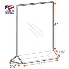 Table Tent Holders by Brochure Holders Table Tents Sign Frames Displays U0026holders