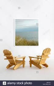 Miniature Adirondack Chair Miniature Adirondack Chairs On White Stock Photo Royalty Free