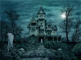 halloween night wallpaper ghostly desktop free ghostly manor wallpaper download the free