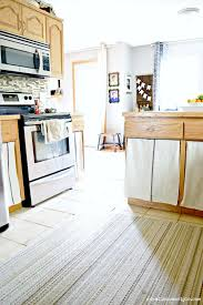 Kitchen Cabinet Curtains Adding Farmhouse Charm To Ugly Kitchen Cabinets