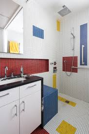 inspired bathroom a mondrian inspired bathroom by alloy workshop contemporist