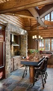 Nice Kitchen Designs Photo Best 25 Log Home Kitchens Ideas On Pinterest Log Cabin Kitchens