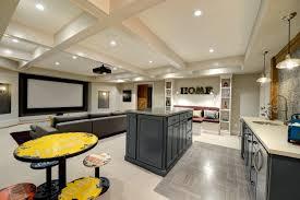 collier rd basement design with home theatre u0026 bathroom u2014 the