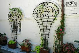 accent piece outdoor arc iron creations