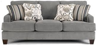 Ideas Grey Sectional Sofa And Throw Pillows By Ashley Furniture