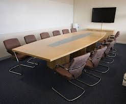 Oak Meeting Table Gorgeous Oak Meeting Table With Meeting Rooms Bespoke Tables