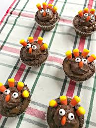thanksgiving brownie turkeys the cards we drew