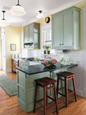 Green Kitchens Editors U0027 Picks Our Favorite Green Kitchens This Old House