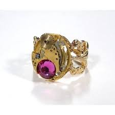 steunk engagement ring steunk engagement rings engagement rings gallery polyvore