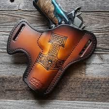 mjolnir gun holster hammer of thor custom holster