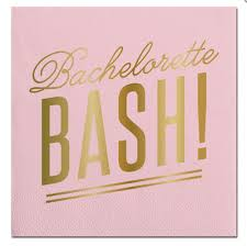 pack of 20 bachelorette cocktail napkins affiliate