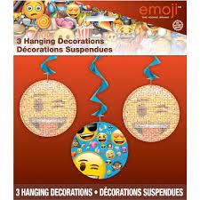 26 hanging emoji decorations 3 count walmart