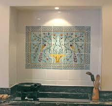 ceramic tile murals for kitchen backsplash kitchen tile murals tile backsplashes coryc me
