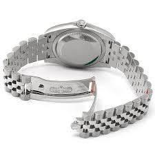 silver rolex bracelet images Rolex datejust silver index dial jubilee bracelet automatic men 39 s jpg