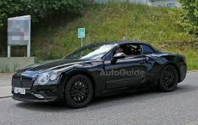 new bentley sedan bentley continental gtc spied testing again autoguide com news