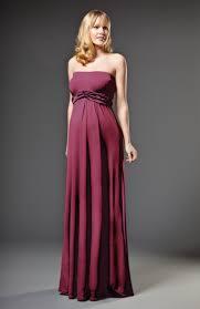 photo grecian maternity strapless dress image