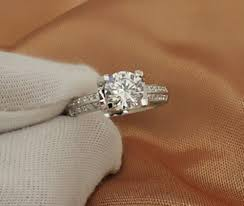 browns wedding rings 2ct synthetic diamonds women wedding ring 18karat white gold cover
