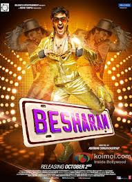 brand new besharam posters are out koimoi