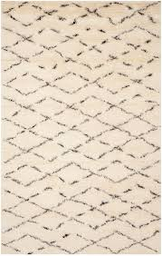 Safavieh Rug by Safavieh Casablanca Csb847a White And Brown Area Rug Free Shipping