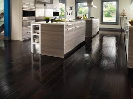 Laminate Wood Floors In Kitchen - kitchen modern dark wood floor normabudden com