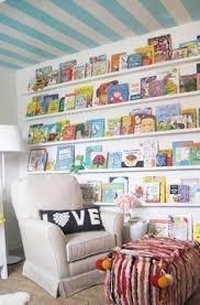 Vinyl Rain Gutter Bookshelves - vinyl rain gutters for book shelves such a cozy reading nook