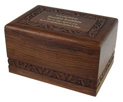 wooden urns for ashes jackson wooden urn in the light urns
