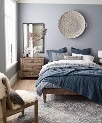 chambre gris bleu avec quelle couleur associer le gris plus de 40 exemples