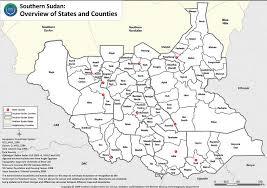 maps of south sudan erininjuba