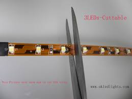 Led Strips Lights by How To Cut Led Strip Light Www Okledlights Com Okledlights
