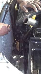 chrysler pt cruiser radiator fan how to change radiator fan in 2001 pt cruiser youtube