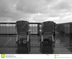 a rainy day at the beach royalty free stock photos image 191908