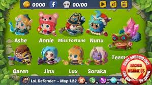 mod apk android league of defenders mod apk 1 1 6 mod money android