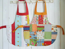 how to sew an apron no pattern pieces needed