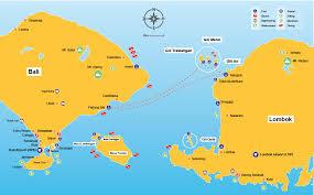 Map Of Bali Fast Boat From Bali To Gili Trawangan Boat Tickets Online