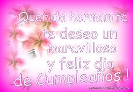 imagenes hermana querida feliz cumpleaños saludo de cumpleaños para hermana mandarsaludos com