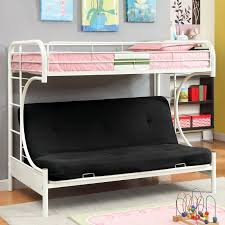 Ravens Contemporary Twin Over Futon Bunk Bed Walmartcom - Twin futon bunk bed