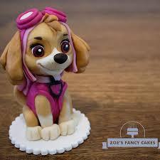 skye paw patrol free cake topper tutorial