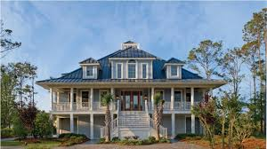 low country house plans with wrap around porch idea house design