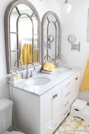 Update Bathroom Vanity Updated Bathroom Single Sink Vanity To Double Sink Home