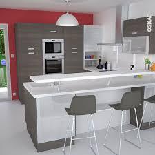 bar pour cuisine ouverte amenagement cuisine avec bar cuisine en image