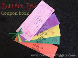 mother u0027s day coupon book template nourished nuggets