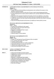 exles of a simple resume resume templates financial sales representative exle exles